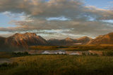 Canada, Alberta, Waterton Lakes National Park. Sunrise Landscape Photographic Print by Don Grall