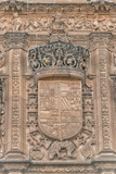 Spain, Salamanca, Detail of Relief Sculpture on Cathedral Exterior Photographic Print by Jim Engelbrecht