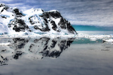 Antarctica. Scenic View of Lemaire Channel Photographic Print by Janet Muir