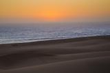 Namibia, Namib Desert, Swakopmund. Sunset on Skeleton Coast Photographic Print by Wendy Kaveney