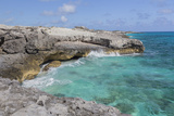 Bahamas, Exuma Island, Cays Land and Sea Park. Site of the Blow Hole Photographic Print by Don Paulson