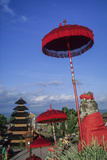 Asia, Indonesia, Bali, Pura Besakih. the 'Mother Temple.' Photographic Print by John & Lisa Merrill