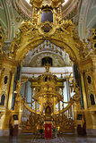 The Alter of the Peter and Paul Cathedral in St. Petersburg, Russia Photographic Print by Dennis Brack