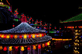 The Fantastic Lighting of Kek Lok Si Temple in Penang, Malaysia Photographic Print by Micah Wright