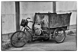 Bike Great Mosque Xi'an in the Muslim Quarter Photographic Print by Darrell Gulin
