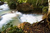 The Kuang Si Waterfalls Just Outside of Luang Prabang, Laos Photographic Print by Micah Wright
