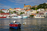The Carenage, Inner Harbor in St. Georges, Grenada, West Indies Photographic Print by Brian Jannsen