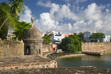 A Sentry Box Along the Walls of Old Town, San Juan, Puerto Rico Photographic Print by Brian Jannsen