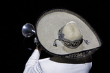 Sombrero of a Mariachi Trumpet Player, Xcaret, Yucatan, Mexico Photographic Print by Charles O. Cecil