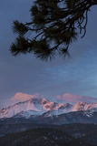 USA, Colorado. Sunrise on Pikes Peak Photographic Print by Don Grall