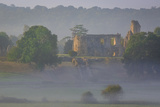 Misty Dawn over Sherborne Castle, Sherborne, Dorset, England Photographic Print by Brian Jannsen
