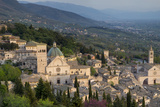 View over Assisi, Umbria, Italy Photographic Print by Brian Jannsen