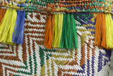 Papua New Guinea, Murik Lakes, Karau Village. Woven Straw Bag Photographic Print by Cindy Miller Hopkins