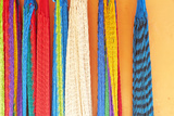 Mexico, Jalisco. Colorful Hammocks Sold by Street Vendors Photographic Print by Steve Ross