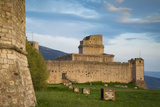 Rocca Maggiore, the Imperial Fortress High Above Assisi, Umbria, Italy Photographic Print by Brian Jannsen