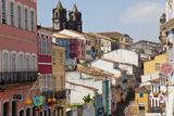Pelourinho, Salvador, Bahia, Brazil Photographic Print by Peter Adams