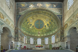 Italy, Ravenna, Basilica of Sant'Apollinare in Classe Interior Photographic Print by Rob Tilley