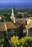 Landscape of Bonnieux, Provence, France Photographic Print by Peter Adams