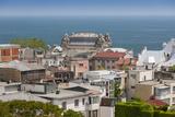 Romania, Black Sea Coast, Constanta, View with Constanta Casino Photographic Print by Walter Bibikow