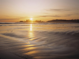 Sunset at Long Beach, Pacific Rim NP, Vancouver Island, B.C., Canada Photographic Print by Greg Probst