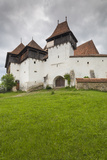 Romania, Transylvania, Viscri, Fortified Saxon Church Photographic Print by Walter Bibikow