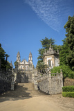 Lamego, Portugal, Shrine of Our Lady of Remedies Exterior Steps Photographic Print by Jim Engelbrecht