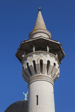 Romania, Black Sea Coast, Constanta, Geamia Hunchiar Mosque, Exterior Photographic Print by Walter Bibikow