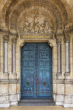 Doors to Basilique Du Sacre Coeur, Montmartre, Paris, France Photographic Print by Brian Jannsen