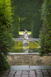 Garden Fountain at Hidcote, the Cotswolds, Gloucestershire, England Photographic Print by Brian Jannsen