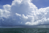Thunderstorm Above the Lower Florida Keys, Florida Bay, Florida Photographic Print by James White