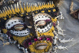 Papua New Guinea, Village of Kopar. Folk Art Souvenir Mask Photographic Print by Cindy Miller Hopkins