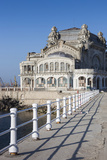 Romania, Black Sea Coast, Constanta, Constanta Casino Building Photographic Print by Walter Bibikow
