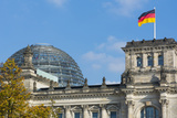 Berlin, Germany Reichstag Building Famous City Center Photographic Print by Bill Bachmann