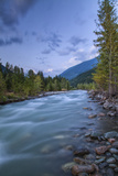 Carpenter Creek Flowing into Slocan Lake, New Denver, B.C., Canada Photographic Print by Peter Bennett