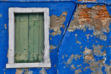 Shuttered Windows Burano, Italy Photographic Print by Darrell Gulin