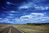 Highway 78, New Mexico, High Alpine Grasslands and Clouds Photographic Print by Richard Wright