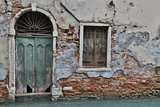 Green Doorway, Venice, Italy Photographic Print by Darrell Gulin