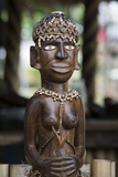 Melanesia, Solomon Islands, Guadalcanal Island. Wood Carved Figurine Photographic Print by Cindy Miller Hopkins