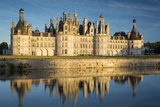 Sunset over the Massive Chateau de Chambord, Loire-Et-Cher, France Photographic Print by Brian Jannsen