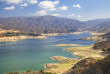 Castaic Lake, West Branch California Aqueduct. Los Angeles, California Photographic Print by Peter Bennett