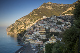 Morning on the Mountains Above Positano, Amalfi Coast, Campania, Italy Photographic Print by Brian Jannsen