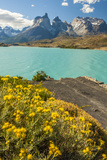 Chile, Patagonia, Torres del Paine NP. the Horns Mts and Lago Pehoe Photographic Print by Cathy & Gordon Illg