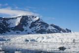 Norway. Svalbard. Hornsund. Burgerbutka. Paier Glacier Photographic Print by Inger Hogstrom