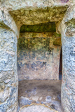 Tulum, Remnants of Mayan Paintings. Playa del Carmen, Yucatan, Mexico Photographic Print by Charles O. Cecil
