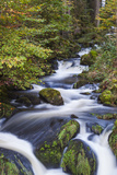 Walter Bibikow - Germany, Baden-Wurttemberg, Black Forest, Triberg, Triberg Waterfalls Fotografická reprodukce
