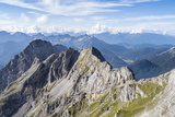 Karwendel Mountains. Karwendel Ridge. Austria/Germany Photographic Print by Martin Zwick
