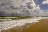 Storm Coming, Eastern Florida Coast, Atlantic Ocean, Jupiter, Florida Photographic Print by Rob Sheppard