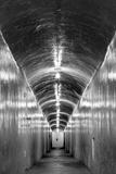 USA, California, Furnace Creek Inn Tunnel Photographic Print by John Ford
