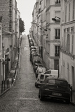 France, Paris. City Street Scene Photographic Print by Bill Young