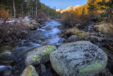 USA, California, Sierra Nevada Range. Rock Creek Landscape Photographic Print by Dennis Flaherty